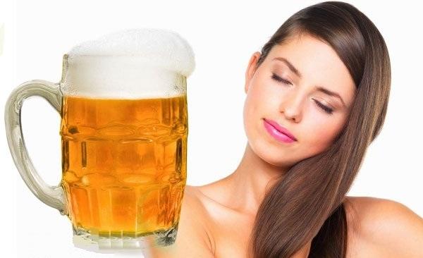 Пиво содержит массу элементов, полезных для волос