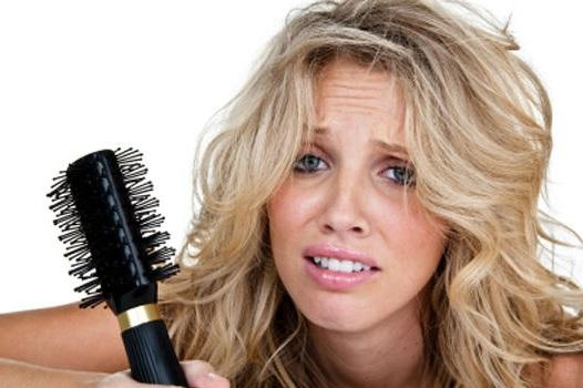 Количество выпавших волос также может отличаться