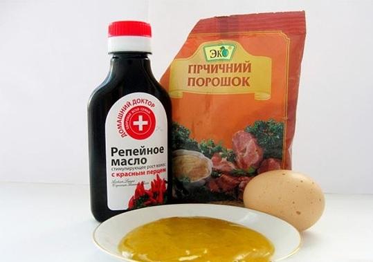 Один из самых популярных ингредиентов - репейное масло
