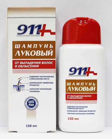 Шампунь 911 от выпадения волос отзывы