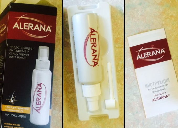 Спрей alerana для роста волос спрей отзывы