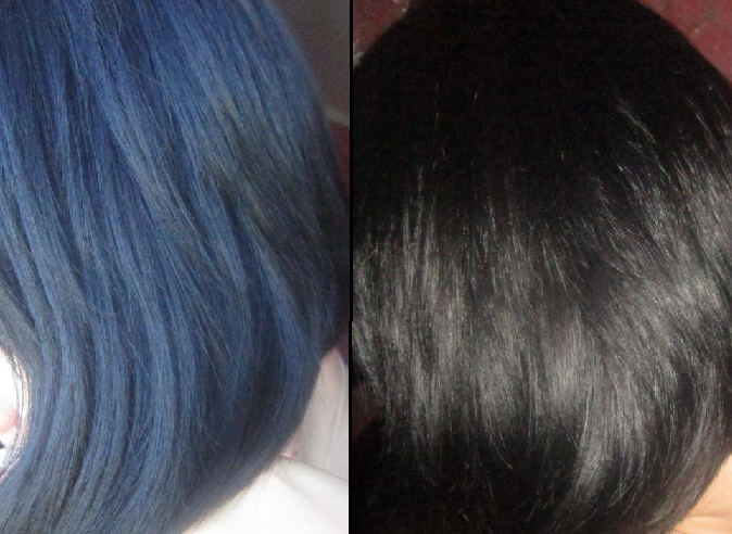 Эффект на окрашенных волосах после маски с алоэ