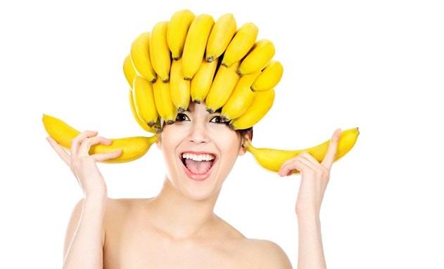 Мед и банан маска для волос