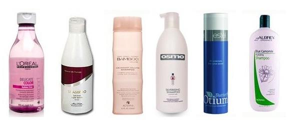 Природные компоненты безсульфатных шампуней укрепляют волосы