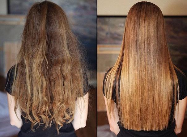 Обычные шампуни нельзя применять после кератинового выпрямления волос