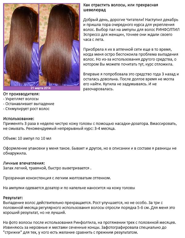 Как отрастить волосы, или прекрасная шевелюра - отзыв