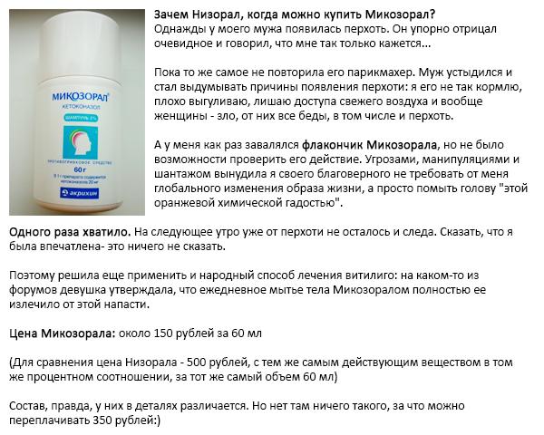 Противогрибковое средство Акрихин Микозорал - отзыв