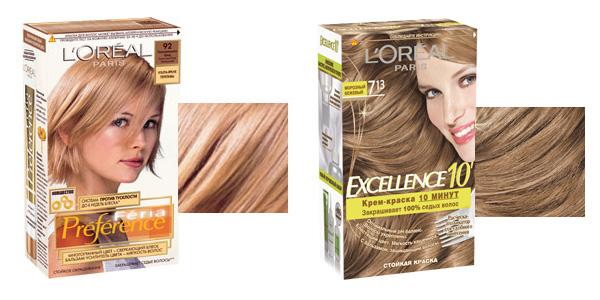 Оттеночный шампунь лореаль палитра цветов на волосах