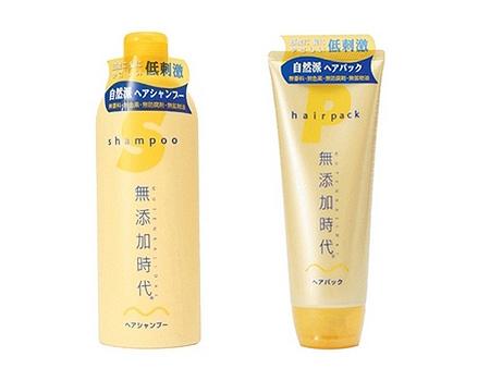 Шампунь «Mutenka Jidai Hair Shampoo» и маска «Mutenka Jidai Hair Pack»