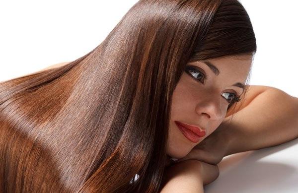 Маска для волос с репейным и льняным маслом и медом