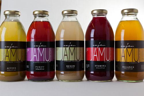 Индонезийская марка органической косметики Jamu