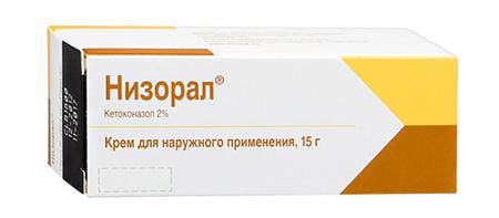 Лечебное средство крем Низорал
