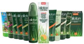 Косметика для волос серии Аллотон
