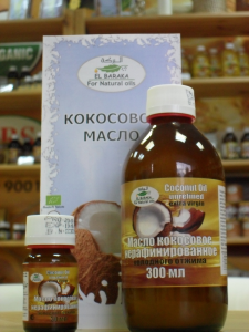 Кокосовое масло «Эль Барака»