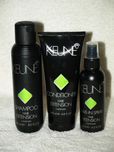 «Extension Care» от «Keune» предназначены специально для нарощенных волос