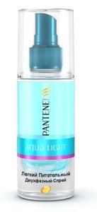 Двухфазный спрей Pantene Pro-V Aqua Light