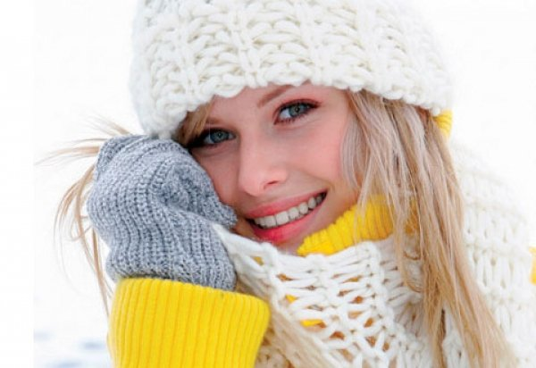 Защищайте волосы от мороза и ветра