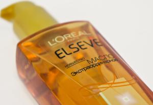 Масло Elseve для всех типов волос