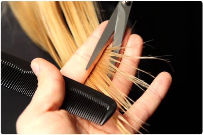 Персиковое масло для кончиков волос