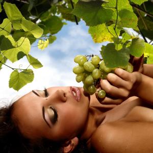 Виноградное масло борется с выпадением волос