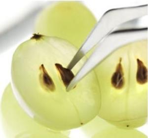 Масло виноградных косточек содержит комплекс жирных кислот