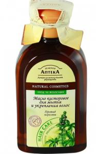 Касторовое масло помогает от перхоти