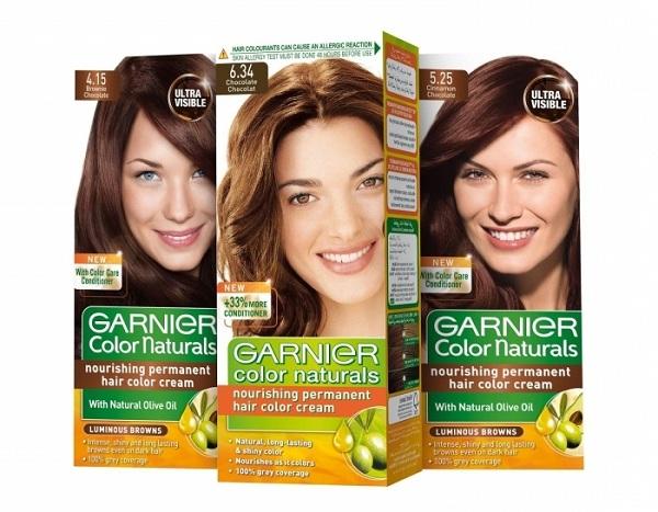 Серия Garnier Color Naturals