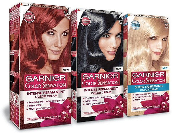 Серия Garnier Color Sensation
