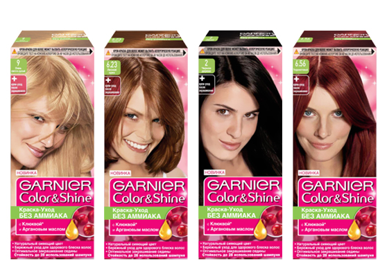 Серия Garnier Color&Shine