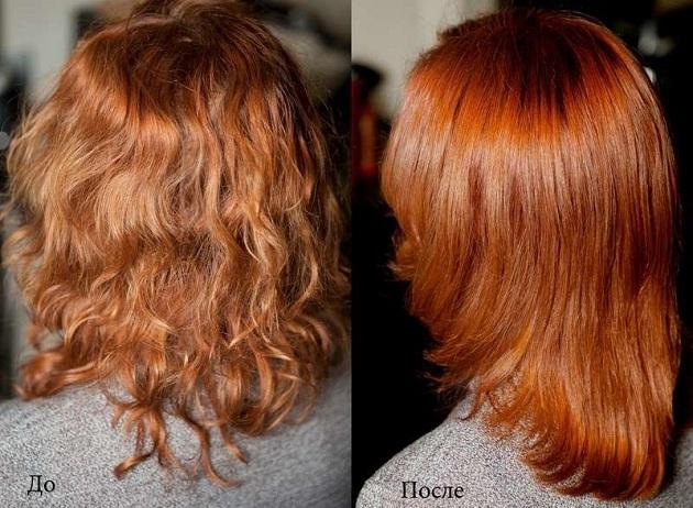 Укрепление и окраска волос