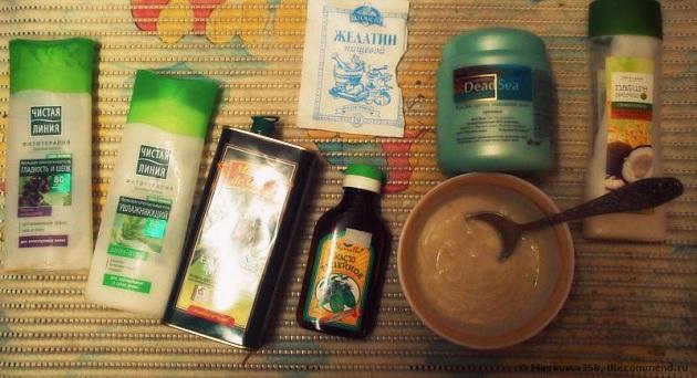 Ламинирование волос в домашних условиях: рецепты, средства