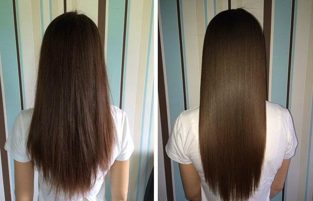 Фото волосы после ламинирования