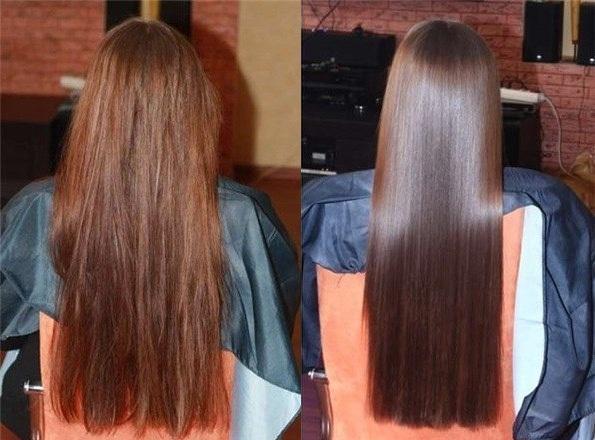 Волосы блестели в домашних условиях