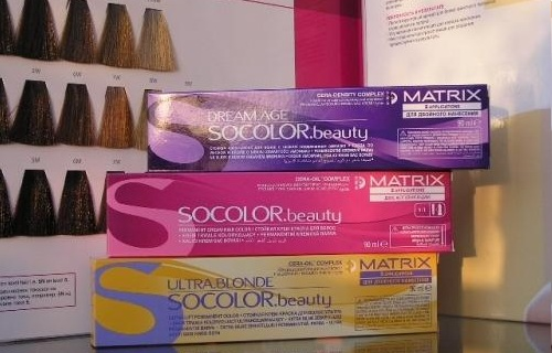 Краски для волос Матрикс