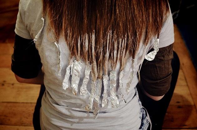 Как сделать волосы темные