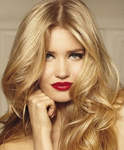 Цвет теплый блонд