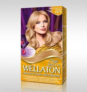 Применение красок для волос веллатон