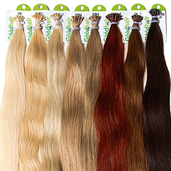 Волосы с капсулами