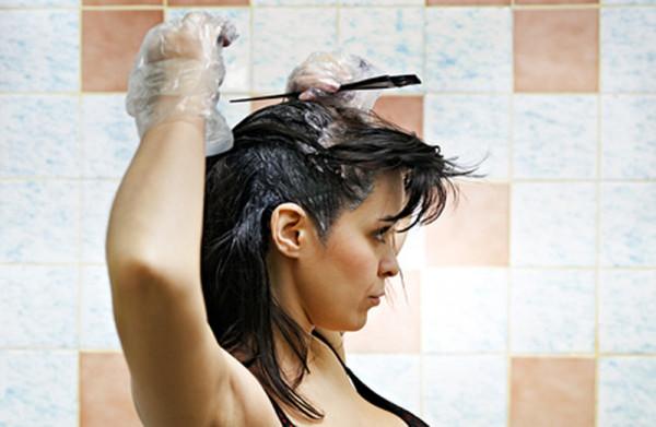 Окраска волос самостоятельно
