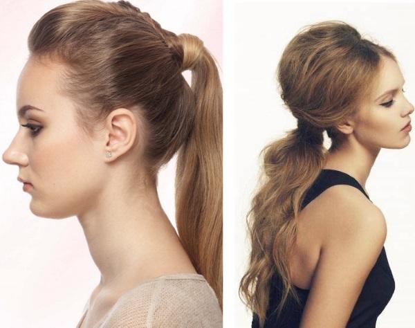6 быстрых и простых причесок на каждый день из средних волос