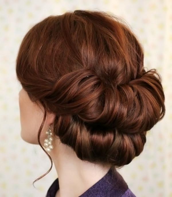 Валик из длинных волос