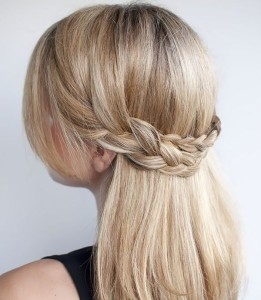 Средние волосы и косы